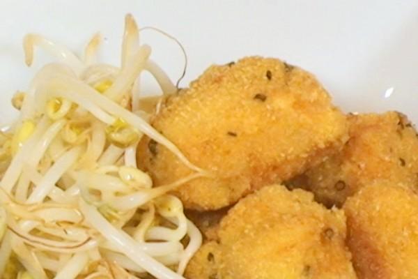 pollo-rebozado-con-soja-y-frijoles2