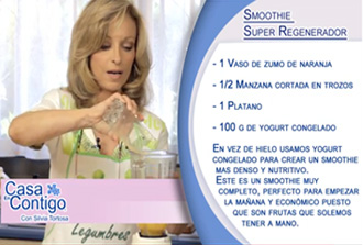 SMOOTHIE O BATIDO SUPER REGENERADOR