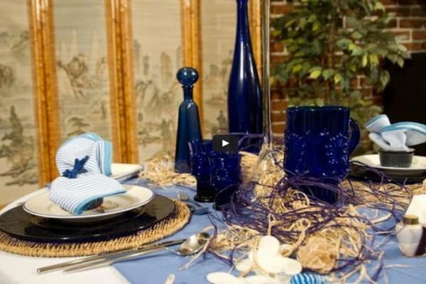 decoracion mesa comida especial