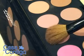 Como Aplicar el Colorete o blush-on