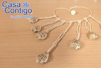 Como Hacer un Collar de Conchas de Mar