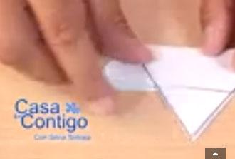 Como hacer un adorno estrella de papel en 3d o tridimensional