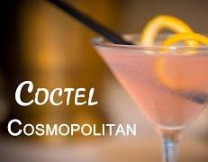Como Hacer un Coctel Cosmopolitan Bebida con Alcohol