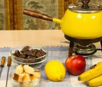 Fondue de Chocolate con Licor