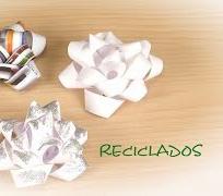 Lazo para Regalos de Papel Reciclado -- Facil y Gratis