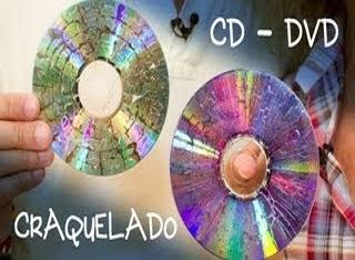 cd dvd craquelado