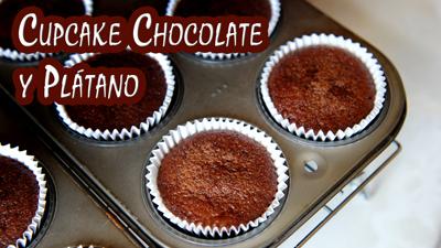 cupcakes-chocolate-y-platano-o-banana