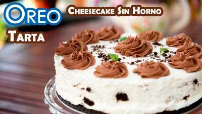 Cheesecake-oreo-sin-horno