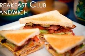 Breakfast Club Sandwich para el Desayuno o Cualquier Hora