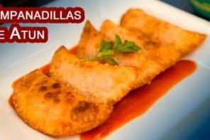 Empanadillas de Atun o Bonito Fritas y Al Horno