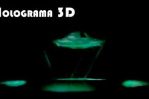 Proyector de Hologramas Reciclado Facilísimo y Sorprendente