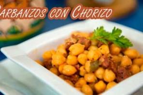 Receta Garbanzos con Chorizo, Facil y Buenisimo
