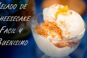 Helado de Cheesecake sin Maquina Heladora, Facil y Buenisimo