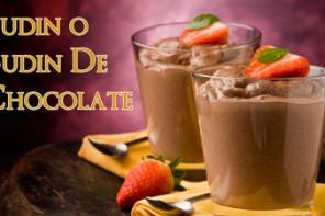 La Mejor Receta  de Crema o Pudding de Chocolate