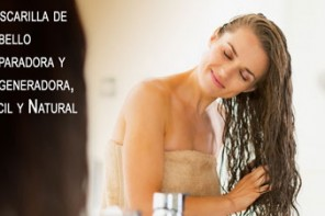 Mascarilla de Cabello Reparadora y Regeneradora, Facil y Natural
