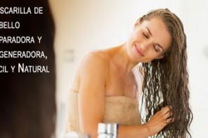 Mascarilla de Cabello Reparadora y Regeneradora, Facil y Natural