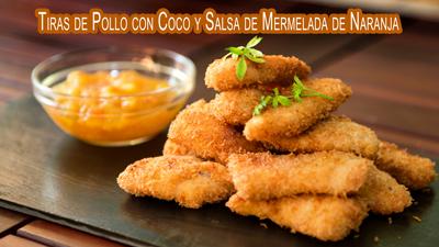 Tiras-de-Pollo-con-Coco-y-Salsa-de-Mermelada-de-Naranja