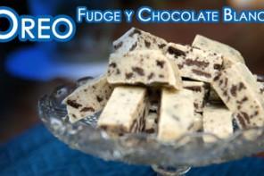 Fudge de Oreos y Chocolate Blanco o Cookies & Cream Fudge
