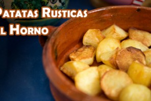 Como hacer Patatas Rusticas al Horno