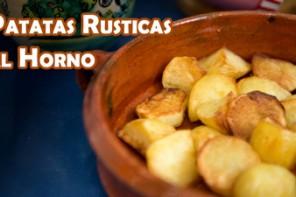 Como hacer Patatas Rusticas al Horno