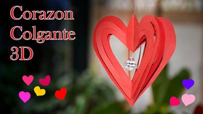 Corazon-Colgante-3D