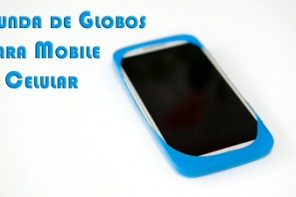 Funda de Globos para Mobile o Celular Increible y Facilisimo