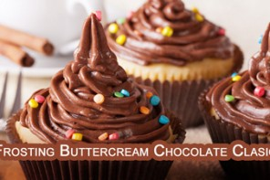 Frosting de Buttercream de Chocolate el Mejor Super Facil y Rico