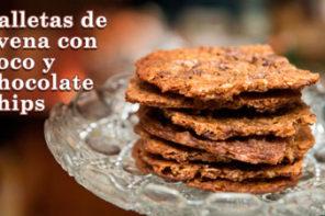 Las Mejores Galletas de Avena con Sabor a Coco y Chocolate
