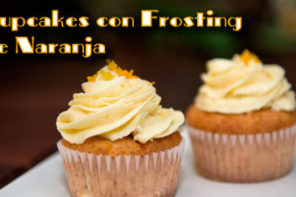 Deliciosos Cupcakes y Frosting de Naranja Faciles de Hacer