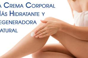Crema Corporal Natural Hidratante y Regeneradora o Body Butter