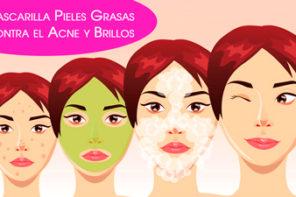 Mascarilla Pieles Grasas Contra los Brillos de la Cara y Acne