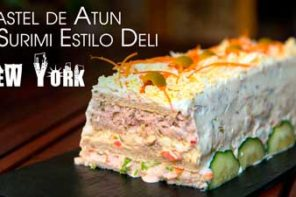 Pastel de Atun y Surimi Estilo New York Delicatessen