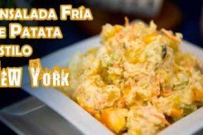 Receta Autentica Ensalada Fria de Patata Estilo New York