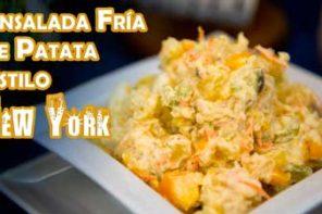 Receta Autentica Ensalada Fria de Patata Estilo New York