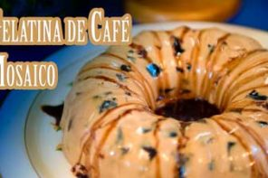 Como Hacer Gelatina de Cafe de Cuatro Leches Mosaico
